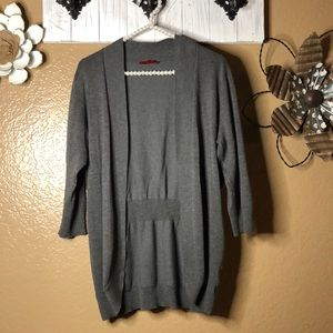 Sweaters - 4/$25 large gray cardigan coverup